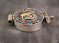 Amulett Gau ~ OM tibetisch ~ Prayer Box ~ Ghau  Art. 01447