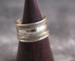 Ring aus Nepal ~ Messing Art. 00662