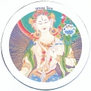 Magnet WHITE TARA Art. 00987